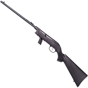 "Savage Model 64 Takedown .22 LR Left Hand Semi Auto Rimfire Rifle 16.5"" Barrel 10 Rounds with Uncle Mikes Bug-Out Bag Black Synthetic Stock Blued Finish"