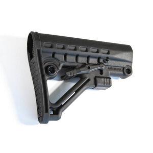 JE Machine Mil-Spec Skeleton A-Frame Adjustable Stock Black