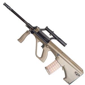 "Steyr STG77SA AUG 40th Anniversary Semi Auto Rifle 5.56 NATO 20"" Chrome Lined Barrel 30 Round AUG Pattern Magazine with Classic 1.5X Optic Matte Black/Green Finish"