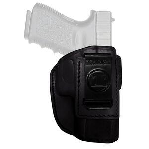 Tagua Gun Leather Super Soft Kel-Tec 380 Inside Waistband Holster Leather Right Hand Black SOFT-010