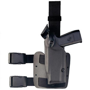 """Safariland 6004 Springfield XD(M) 9/40 4"""" with TLR-2 SLS Tactical Holster Left Hand STX Black"""