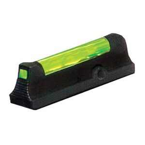 HiViz Front Sight Ruger LCR Green Fiber Steel Black LCR2010-G