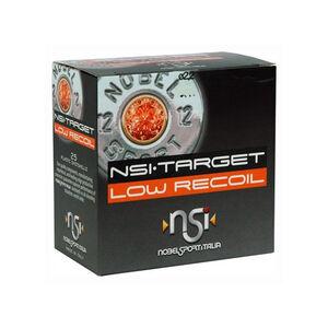 "NobelSport Target Low Recoil 12 Gauge Ammunition 25 Rounds 2 3/4"" #8 Lead 7/8 oz NSLR788"