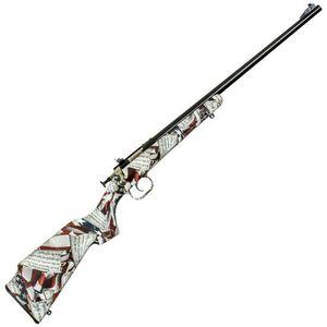 "Keystone Arms Crickett Amendment Single Shot Bolt Action Rimfire Rifle .22 LR 16.125"" Barrel 2nd Amendment Stock Blued"
