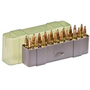Plano Medium Rifle Ammunition Field Box 20 Round Green  122920