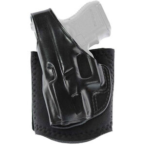 Galco Ankle Glove SIG Sauer P365/GLOCK 42 Ankle Holster Left Hand Neoprene Leather Black