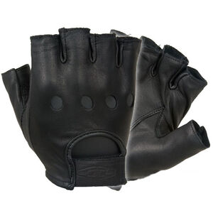 Damascus Protective Gear Driving Gloves Leather 2XL Black D22SXXL