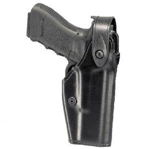Safariland 6280 SLS Mid-Ride Glock 17, 22 Level 2 Retention Left Hand Thermal-Molded Plain Black 6280-83-62