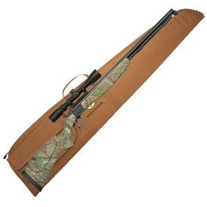 "CVA Optima V2 Nitride Barrel Break Action Black Powder Rifle .50 Caliber 26"" Barrel 3-9x40 Scope RealTree Xtra Synthetic Stock Black Nitride Finish"