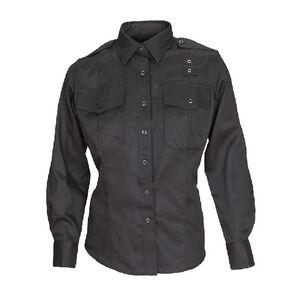5.11 Tactical Women's PDU Long Sleeved Class A Shirt Twill Large/Regular Midnight Navy 62064