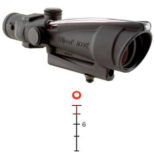 Trijicon ACOG 3.5x35 Scope Dual Illuminated Red Donut .308 Ballistic Reticle Matte Black