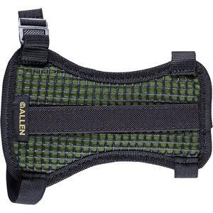 Allen Medium Mesh Armguard Black/Hot Green