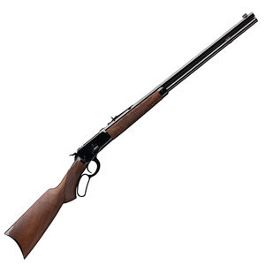 "Winchester Model 1892 Deluxe Octagon .44-40 Winchester Lever Action Rifle 24"" Barrel Walnut Stock Gloss Blued Finish"