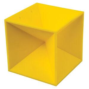 """Caldwell Duramax 5"""" Target Square Self Healing Target Yellow 897597"""