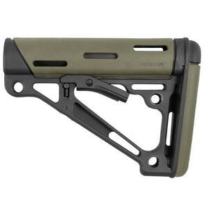 Hogue AR-15 Collapsible Carbine Buttstock Mil-Spec OverMolded OD Green 15240