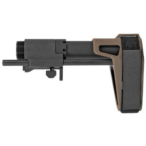 SB Tactical SBPDW AR-15 Pistol Stabilizing Brace Assembly Matte Black/Flat Dark Earth