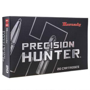 Hornady Precision Hunter 7mm-08 Rem Ammunition 20 Rounds ELD-X 150 Grain Bullet 2770 fps