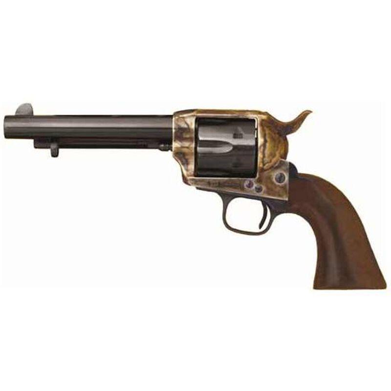 "Cimarron USV Artillery Single Action Revolver .45 Long Colt 5.5"" Barrel 6 Rounds Walnut Grip with US Artillery Markings Blue Finish CA513M00"