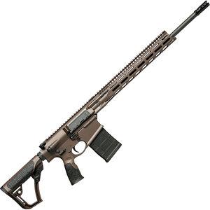 "Daniel Defense DD5v5 6.5 Creedmoor AR Style Semi Auto Rifle 20"" Barrel 20 Rounds 15"" M-LOK Handguard Collapsible Stock Mil Spec + Brown"