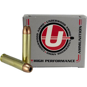 Underwood Ammo .45 Raptor Ammunition 20 Rounds 240 Grain Hornady XTP JHP 2500fps