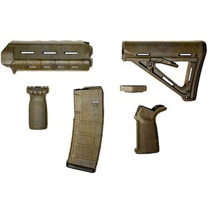 Matrix Diversified Industry AR-15 Magpul Furniture Kit Mil-Spec Polymer Bounty Hunter Finish MAGMIL20BH