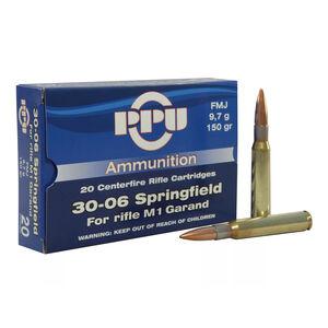 Prvi Partizan .30-06 Springfield Ammunition 20 Rounds FMJ 150 Grains