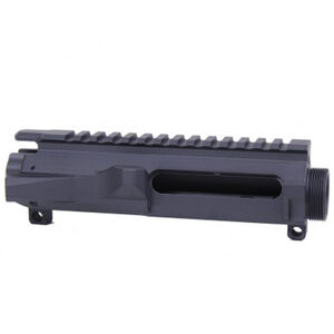Guntec AR-15 Stripped Upper Receiver 6061-T6 Billet Aluminum Anodized Matte Black