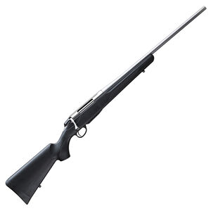 """Tikka T3x Lite Stainless Bolt Action Rifle .223 Remington 22"""" Stainless Steel Barrel 3 Rounds Black Synthetic Stock Stainless Steel Finish"""
