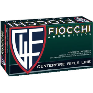 Fiocchi Rifle Shooting Dynamics 7mm Rem Mag Ammunition 20 Rounds 175 Grain Interlock FB Projectile 2850 fps