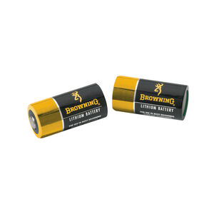 Browning CR123A Lithium Batteries 2 Pack