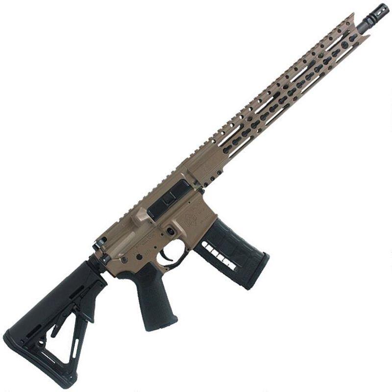"Diamondback Firearms DB15E300FDE AR-15 Semi Auto Rifle .300 Blackout 30 Rounds 16"" Barrel Key-Mod Handguard Collapsible Stock FDE"