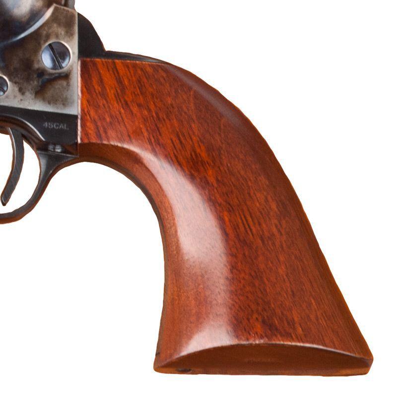"""Cimarron U.S.V. Artillery Revolver .45 Colt 5.5"""" Barrel 6 Rounds Walnut Grips Case Hardened and Standard Blue Finish"""