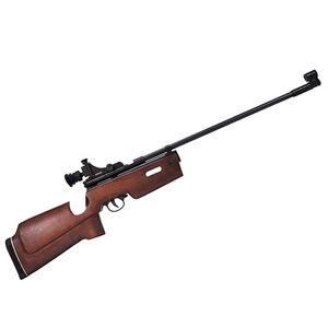 "Beeman SAG CO2 Air Rifle Beachwood thumbhole Stock Bolt Action   177 Caliber 21.5"" Barrel 650 fps Black"