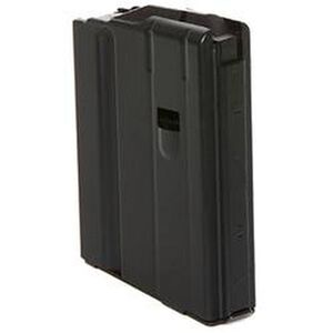 C-Products Defense AR-15 Magazine 6.8 SPC 10 Rounds Stainless Steel Black 1068041177