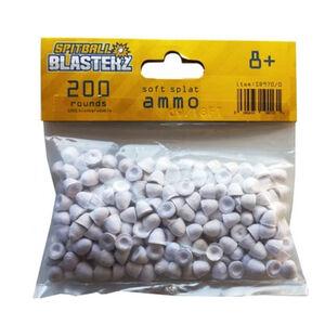 Spitball Blasterz 200 Rounds of Soft Splat Ammunition Pellets
