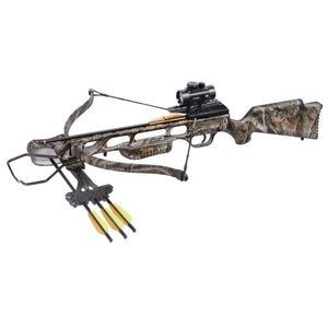 CenterPoint XR175 Recurve Crossbow Kit 245fps 4x32mm Scope Camo