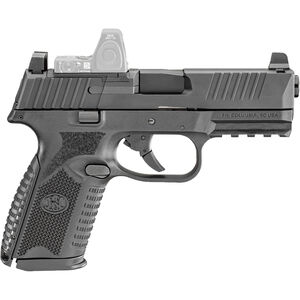 "FN America FN 509 Midsize MRD 9mm Luger Semi Auto Pistol 4"" Barrel 15 Rounds Red Dot Compatible Ambidextrous Controls Polymer Frame Black"