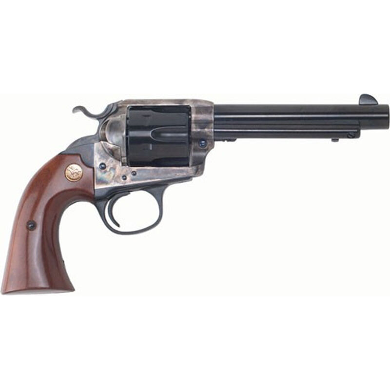 "Cimarron Firearms Bisley Model 1896 Special Target .44-40 Win Single Action Revolver 6 Rounds 5.5"" Barrel Walnut Grips Color Case Hardened/Blued Finish"