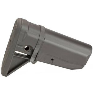 Bravo Company Manufacturing BCM Gunfighter Stock Fits Mil-Spec Receiver Extensions Polymer Wolf Gray BCM-GFS-MOD-0-WG