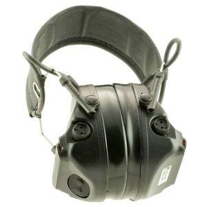 Peltor ComTac III Hearing Defender Electronic Earmuffs -20dB Noise Reduction Rating Slim Cup Design Ballistic Helmet Compatible Matte Black