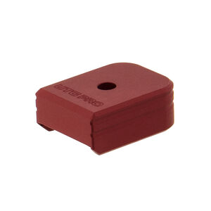 UTG PRO +0 Base Pad, Walther PPQ 9/40, Matte Red Aluminum
