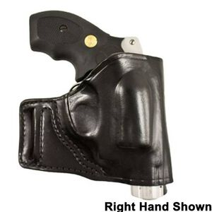 DeSantis Gunhide E-GAT S&W J Frame, Ruger LCR Belt Slide Holster Left Hand Leather Black 115BB02Z0