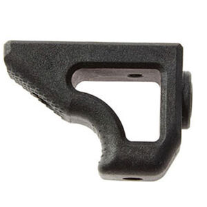 LWRC International Angled Foregrip Compatible with LWRCI Smooth Rails Only Polymer Matte Black