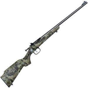 "Keystone Arms Crickett Single Shot Bolt Action Rimfire Rifle .22 LR 16.125"" Barrel Kryptek Camo Synthetic Stock Stainless Finish"
