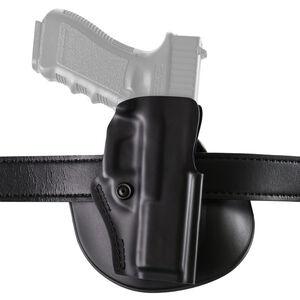 Safariland Model 5198 Paddle Holster Right Hand Fits SIG P320 Full Size 9/40 Hardshell STX Plain Black