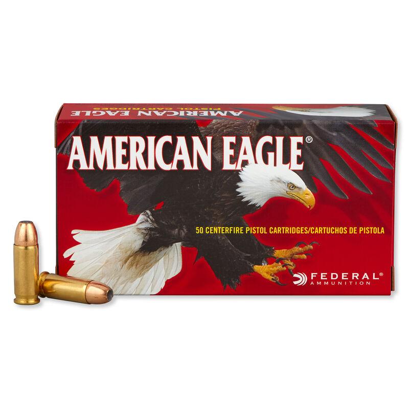 American Eagle .38 Super Automatic +P Ammunition 1,000 Rounds JHP 115 Grains