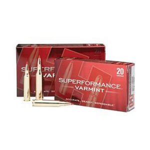 Hornady Superformance 222 Remington Ammunition 20 Rounds NTX 35 Grains 8309