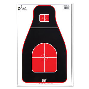 "Pro-Shot 12""x18"" Tactical Precision Target Eight Pack"