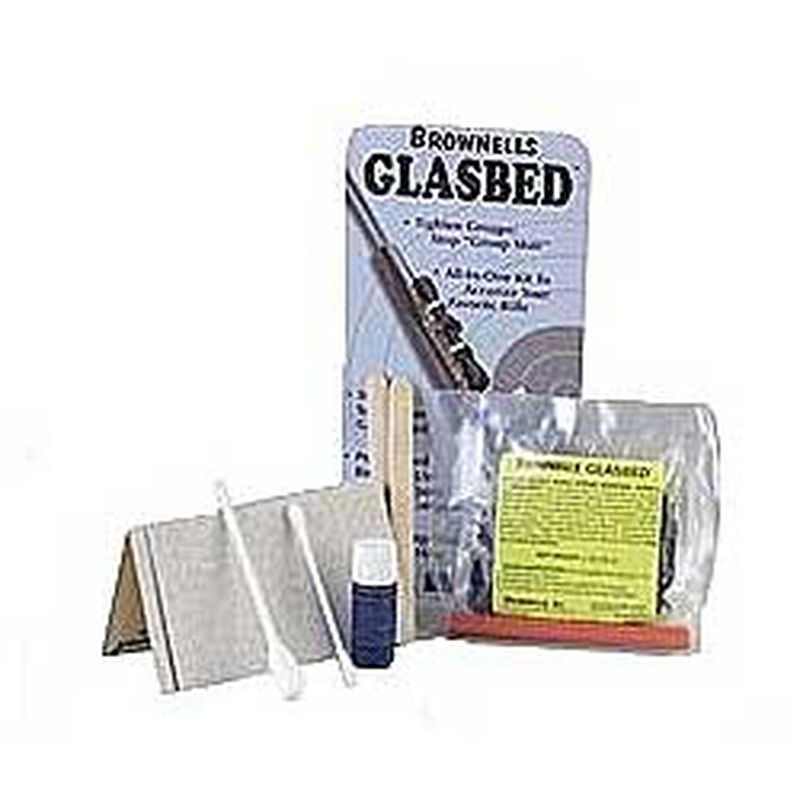 Brownells Easy-to-Use Glasbed Kit Brown