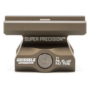 Geissele Super Precision Aimpoint T-1 Optic Mount Absolute Co-Witness Aluminum Desert Dirt 05-401S